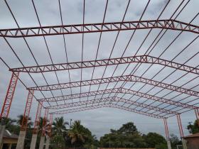 Detalhe Estrutura Metálica